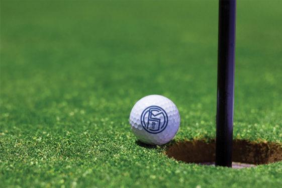 Golf Ball Logo Mockup