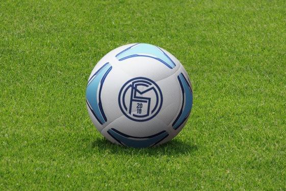Free Soccer Ball Mockup