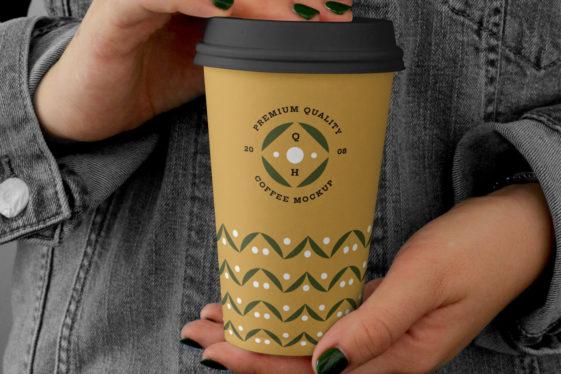 Big Coffee Cup Mockup