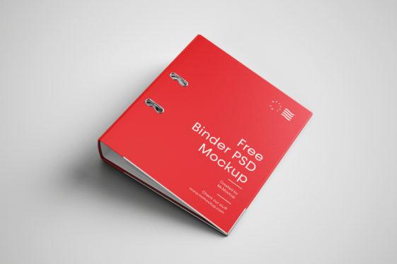 Binder Cover Mockup