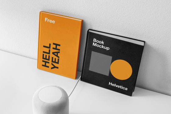 Book Covers PSD Mockup