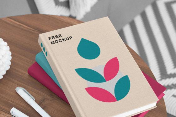 Book PSD Mockups
