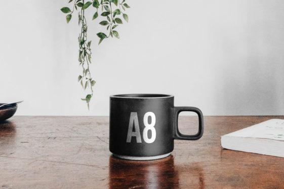 Mug on Table Mockup