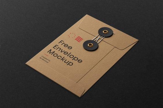 String Envelope Mockup